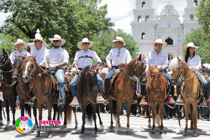Desfile H 237 Pico D 237 A De Ganaderos Y Agricultores De Esquipulas